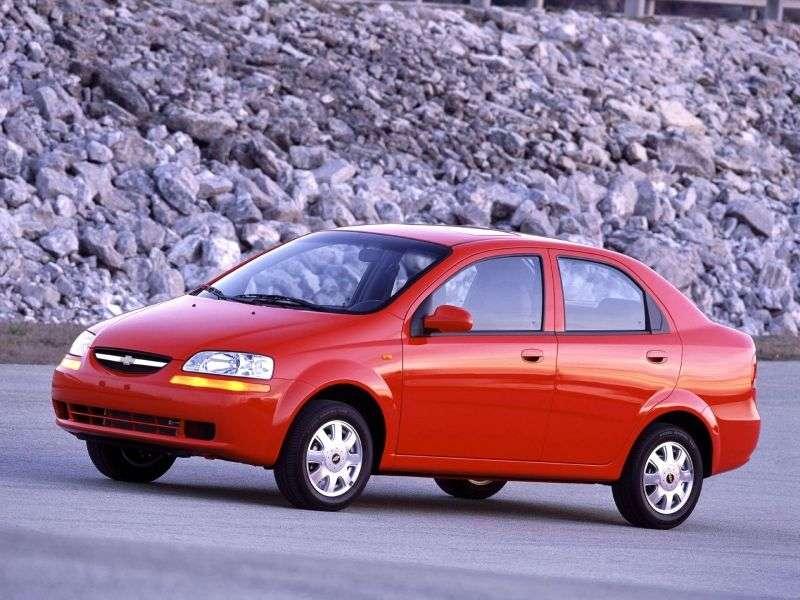 Chevrolet Aveo T200sedan 1.4i AT (2003–2006)