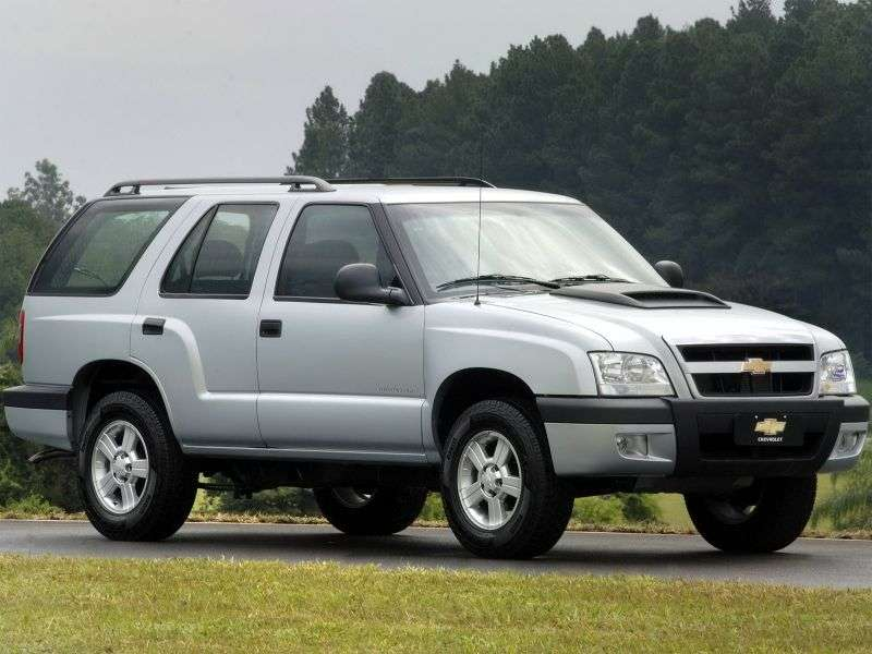 Chevrolet Blazer 5th generation [restyling] BR spec SUV 2.8 TDI MT AWD (2008–2011)