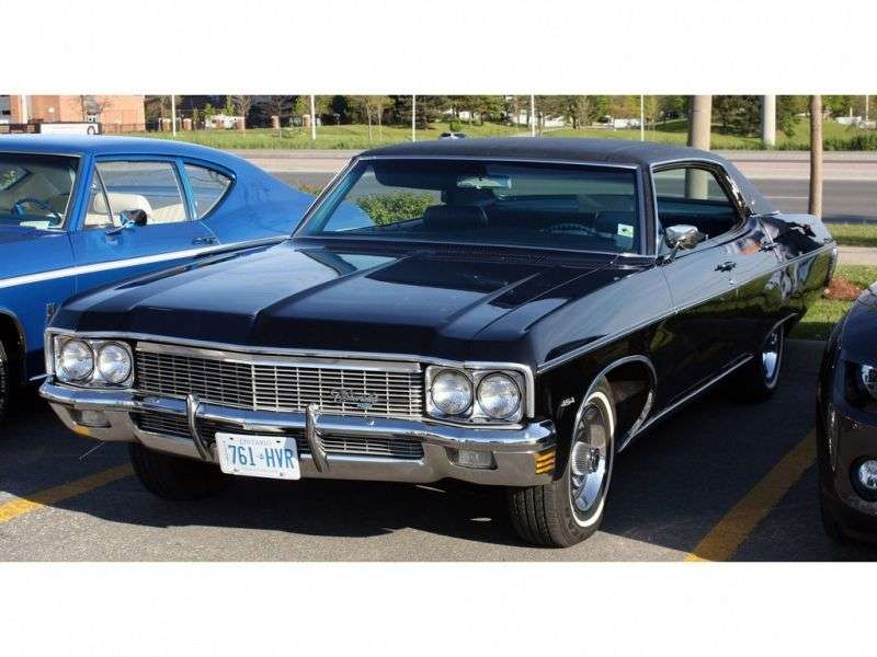 Chevrolet Caprice 1st generation [5th restyling] Sport Sedan 4 bit hardtop. 5.7 Turbo Hydra Matic (1970–1970)