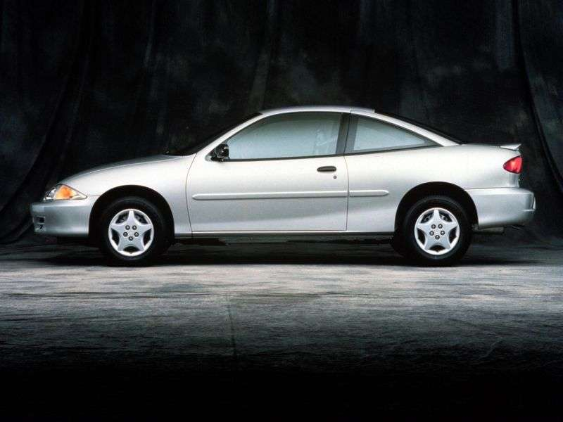 Chevrolet Cavalier 3rd generation [restyling] coupe 2.2 4АТ (1999–2002)