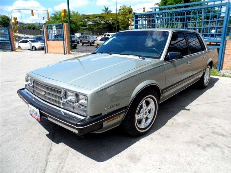 Chevrolet Celebrity 1st generation [restyling] 4.3 D Turbo Hydra Matic sedan (1983–1985)
