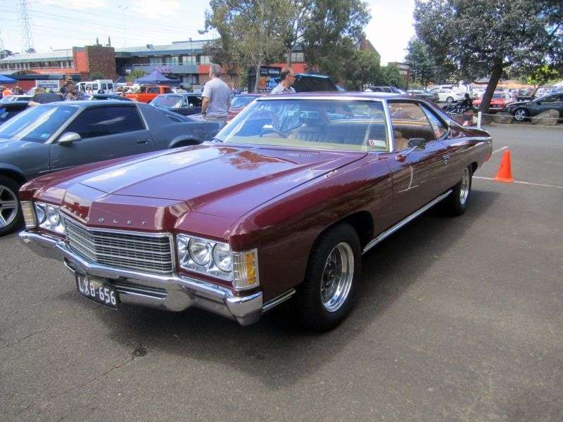 Chevrolet Caprice 2nd generation Custom Coupe hardtop 2 bit. 7.44 Turbo Hydra Matic (1971–1971)