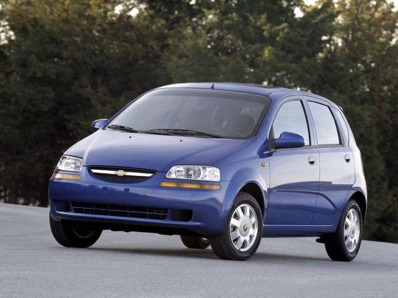 Chevrolet Aveo T200khetchbek 5 dv. 1.4i AT (2003–2008)