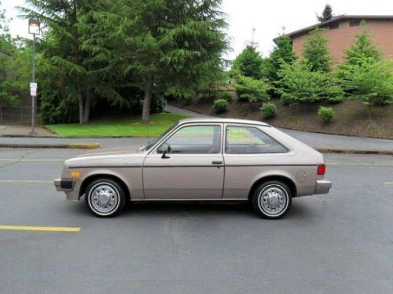 Chevrolet Chevette 1st generation [3rd restyling] 3 bit hatchback 1.6 AT (1983 1986)