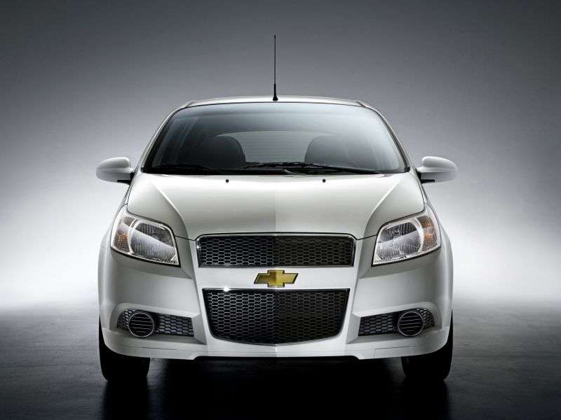 Chevrolet Aveo T250 [restyling] hatchback 5 dv. 1.4 LPG AT (2008–2011)