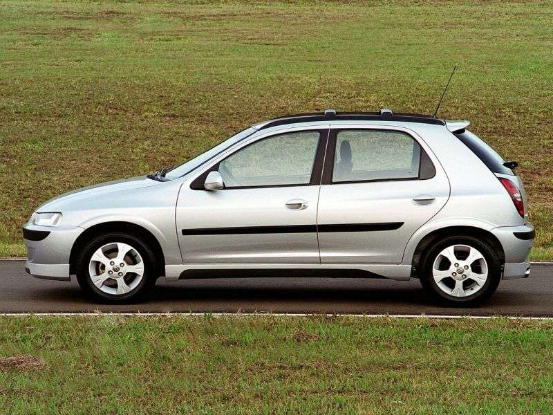 Chevrolet Celta 1st generation hatchback 5 bit. 1.4i MT (2003–2006)