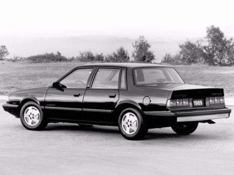 Chevrolet Celebrity 1st generation [3rd restyling] 4 door sedan 2.8 Turbo Hydra Matic Overdrave (1987–1989)