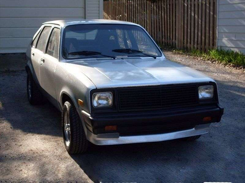 Chevrolet Chevette 1st generation [3rd restyling] 5 bit hatchback 1.8 D AT (1983 1986)