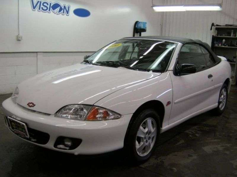 Chevrolet Cavalier 3rd generation [restyling] 2.4 AT convertible (1999–2000)
