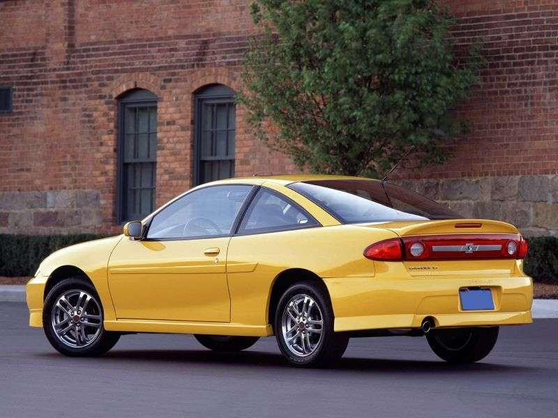 Chevrolet Cavalier 3rd generation [2nd restyling] coupe 2.2 AT (2002–2005)