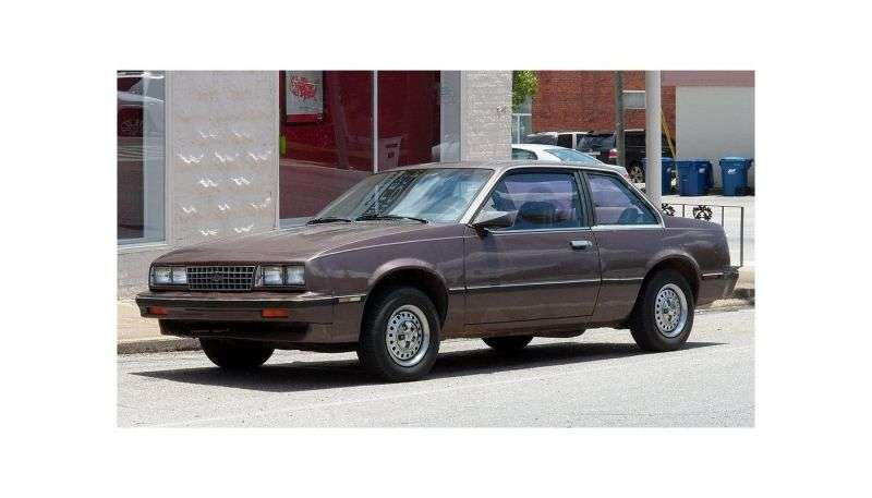Chevrolet Cavalier 1st generation [restyling] coupe 2.8 4MT (1984–1985)