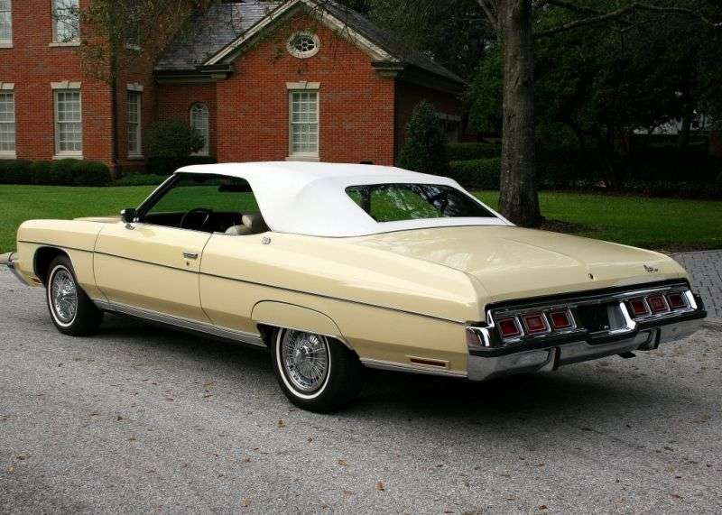 Chevrolet Caprice 2nd generation [2nd restyling] Convertible convertible 7.44 Turbo Hydra Matic (1973–1973)