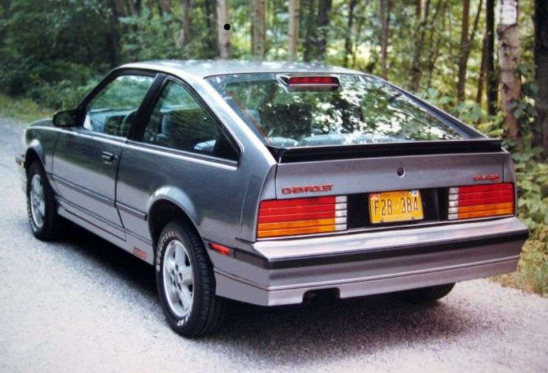 Chevrolet Cavalier 1st generation [restyling] hatchback 2.0 5MT (1983–1986)