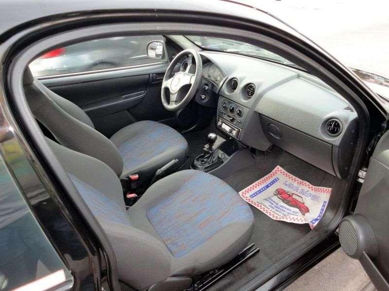 Chevrolet Celta 1st generation [restyling] 3 bit hatchback 1.0i MT (2006–2011)