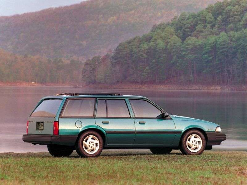 Chevrolet Cavalier 2nd generation [restyling] station wagon 3.1 AT (1990–1994)