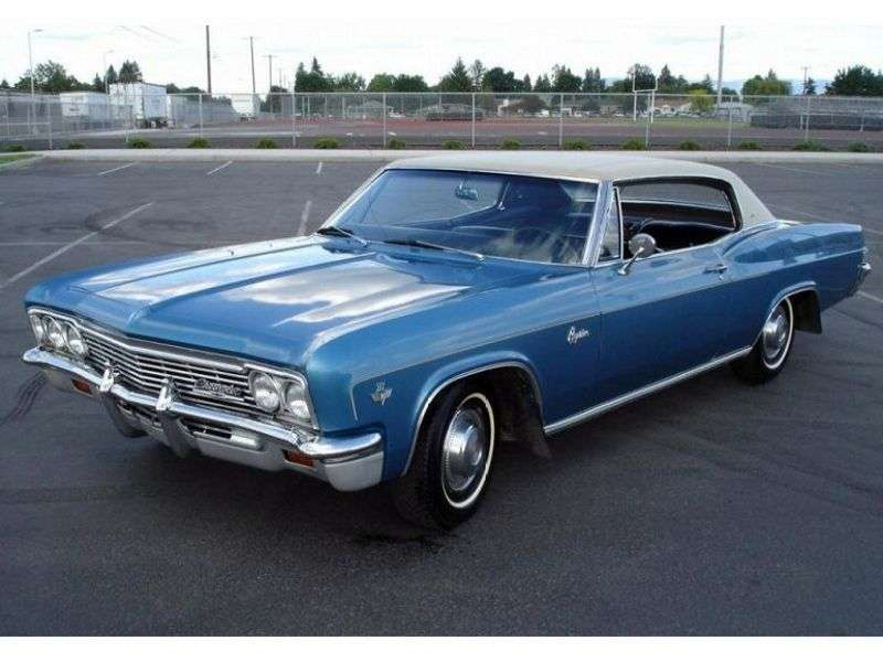 Chevrolet Caprice 1st generation [restyling] Sport Coupe 2 bit hardtop 4.6 AT Powerglide (1966–1966)