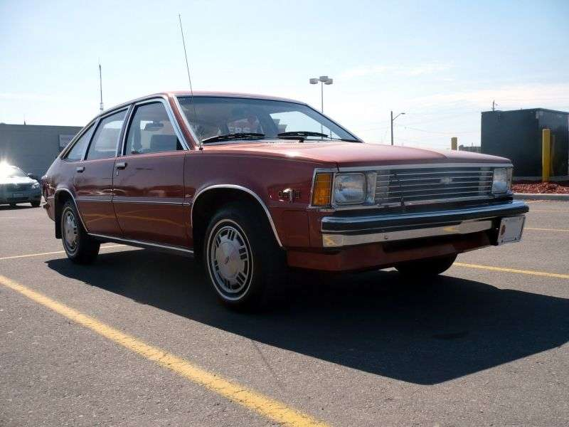 Chevrolet Citation 1st generation hatchback 5 dv. 2.8 MT (1981–1981)