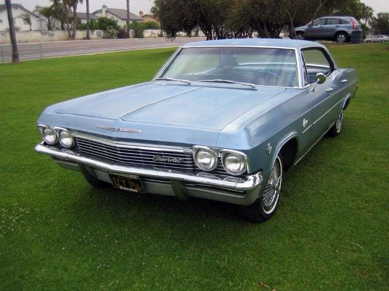 Chevrolet Caprice 1st generation Sport Sedan hardtop 5.4 3MT Fully Synchronized (1965–1965)