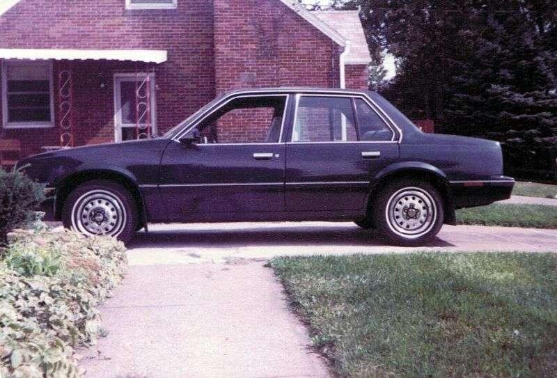 Chevrolet Cavalier 1st generation sedan 1.8 AT (1981–1982)