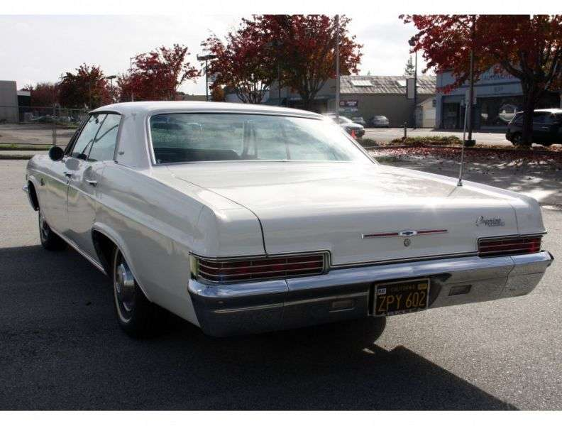 Chevrolet Caprice 1st generation [restyling] Sport Sedan 4 bit hardtop. 6.5 3MT Heavy Duty (1966–1966)