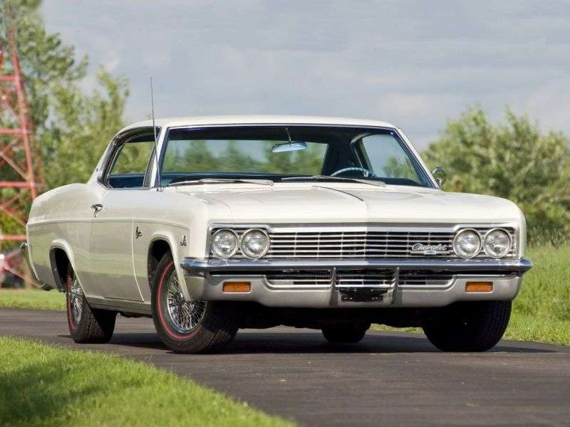 Chevrolet Caprice 1st generation [restyling] Sport Coupe 2 bit hardtop 5.4 AT Powerglide (1966–1966)