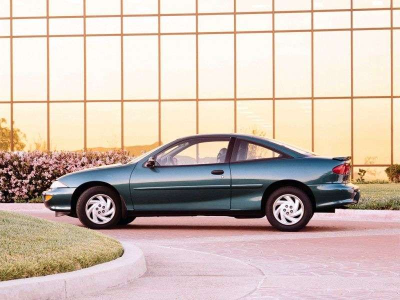 Chevrolet Cavalier 3rd generation coupe 2.2 4АТ (1995–1997)
