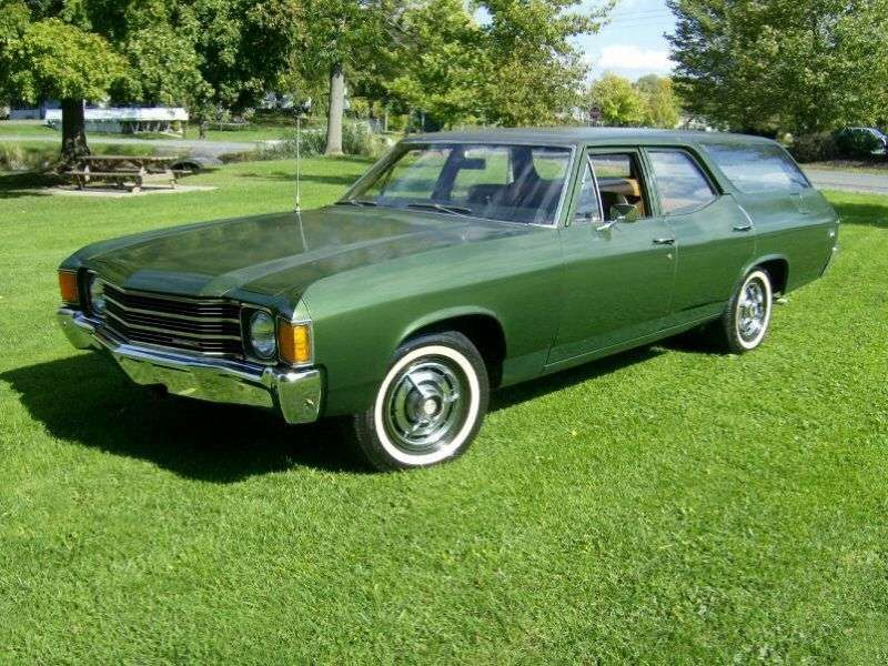 Chevrolet Chevelle 2nd generation [4th restyling] Nomad Station Wagon Wagon 5.7 4MT (1972–1972)