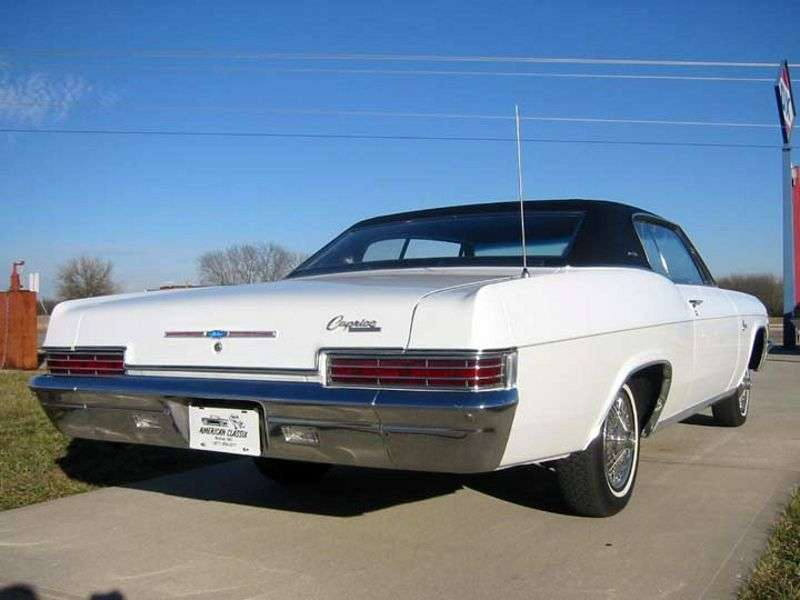 Chevrolet Caprice 1st generation [restyling] Sport Coupe 2 bit hardtop 7.0 4MT High Performance (1966–1966)