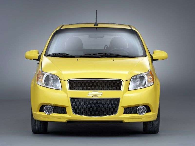 Chevrolet Aveo T250 [restyling] 3 bit hatchback 1.4 LPG AT (2008–2011)
