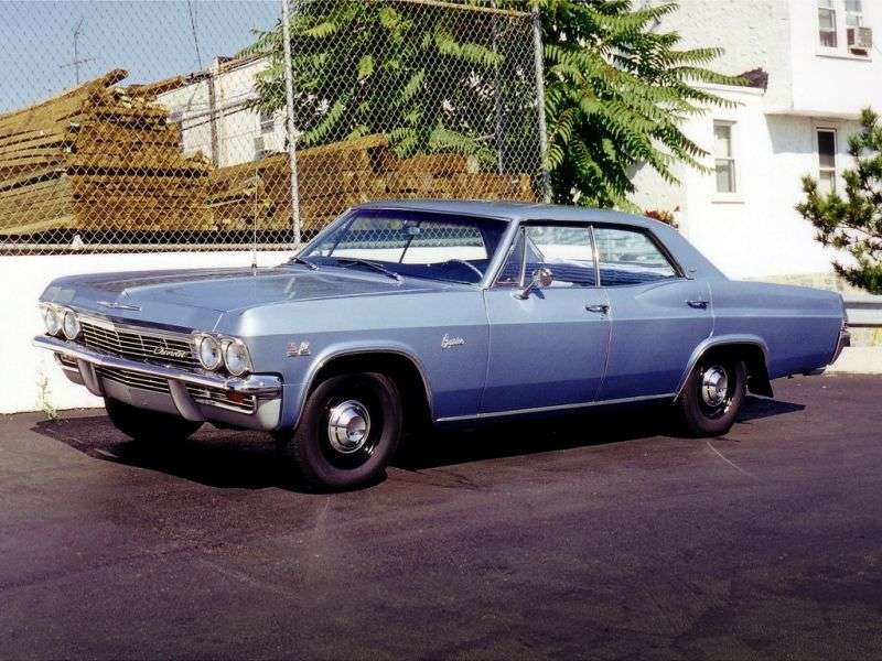 Chevrolet Caprice 1st generation Sport Sedan hardtop 5.4 AT Powerglide (1965–1965)