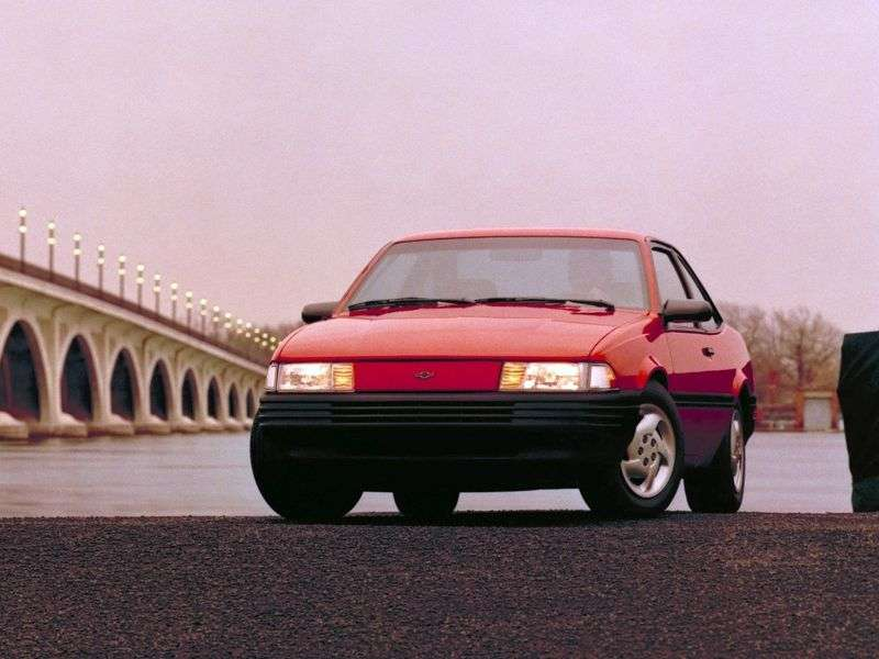 Chevrolet Cavalier 2nd generation [restyling] coupe 3.1 AT (1990–1994)