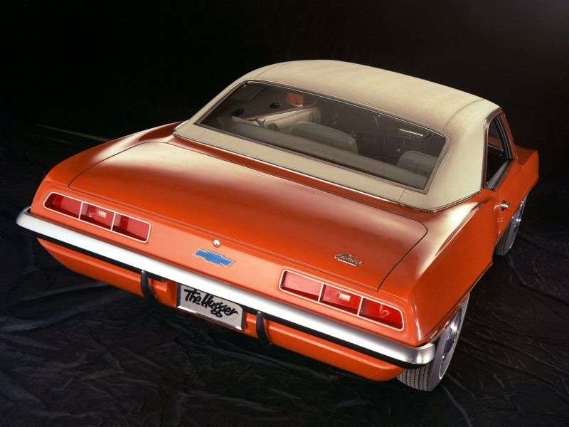 Chevrolet Camaro 1st generation [2nd restyling] coupe 2 dv. 5.7 Powerglide (1969–1969)