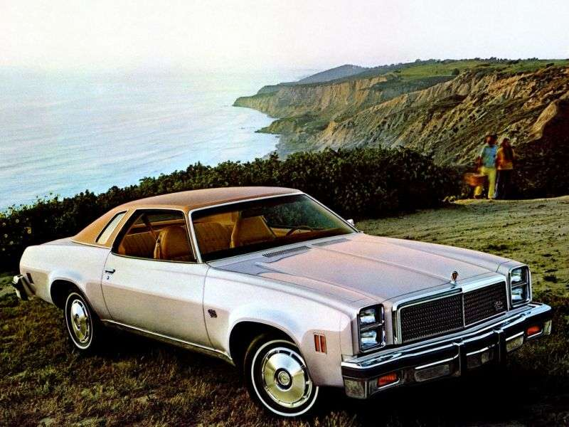 Chevrolet Chevelle 3rd generation [3rd restyling] Classic coupe 2 dv. 5.0 Turbo Hydra Matic (1976–1976)