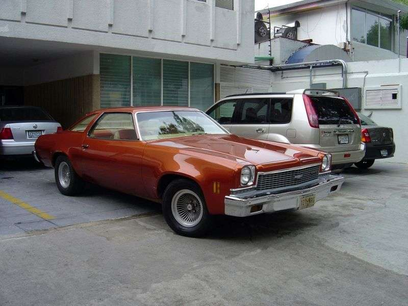 Chevrolet Chevelle 3rd generation coupe 2 bit. 7.4 Turbo Hydra Matic (1973–1973)