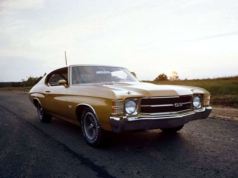 Chevrolet Chevelle 2nd generation [3rd restyling] Sport Coupe Coupe 5.0 MT (1971–1971)