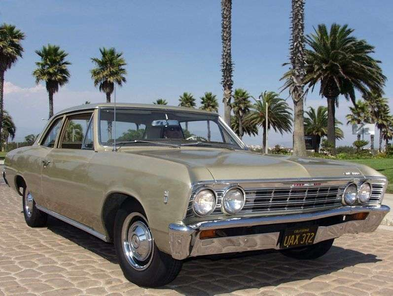 Chevrolet Chevelle 1st generation [3rd restyling] 2 d sedan 3.8 Powerglide (1967–1967)
