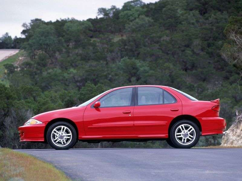 Chevrolet Cavalier 3rd generation [restyling] 2.2 MT sedan (1999–2002)