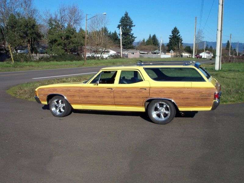 Chevrolet Chevelle 2nd generation [4th restyling] Concours Estate Wagon station wagon 5.7 3MT 2 seat (1972–1972)