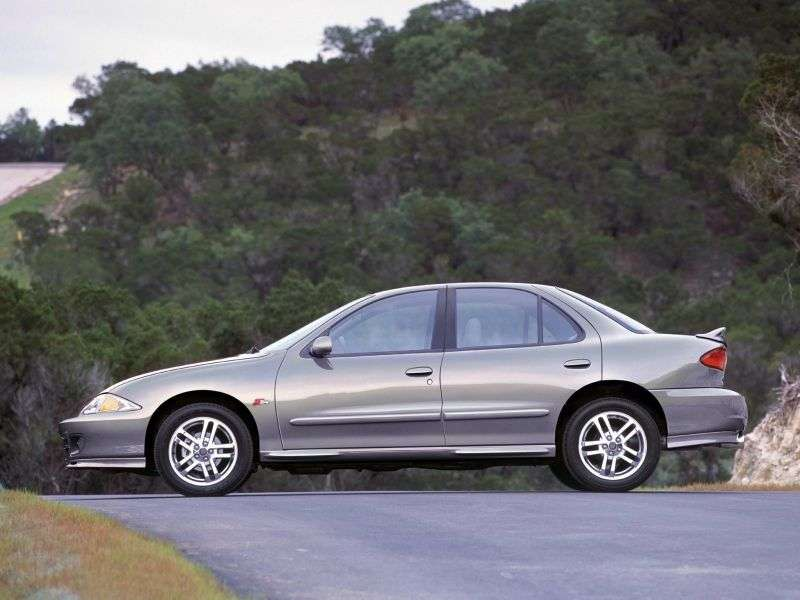 Chevrolet Cavalier 3rd generation [restyling] 2.2 4AT sedan (1999–2002)