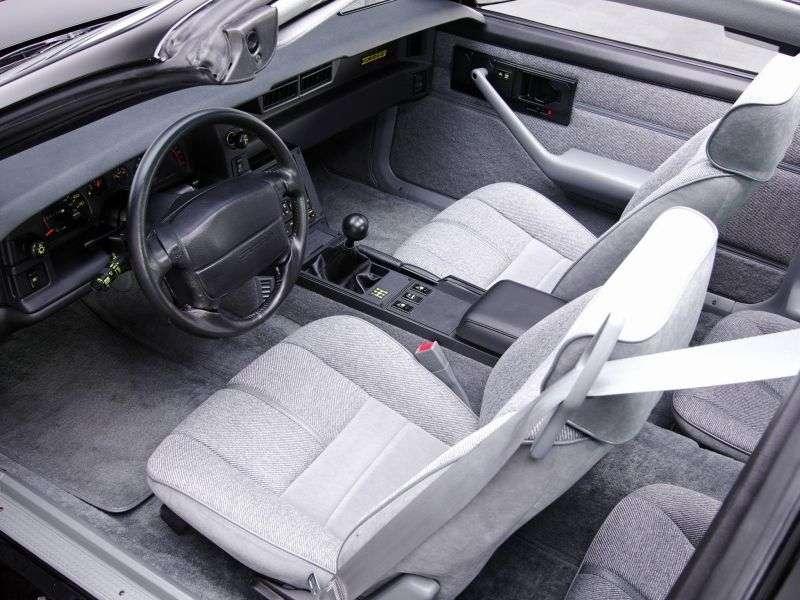 Chevrolet Camaro 3rd generation [2nd restyling] Z28 targa 5.0 MT (1991–1992)