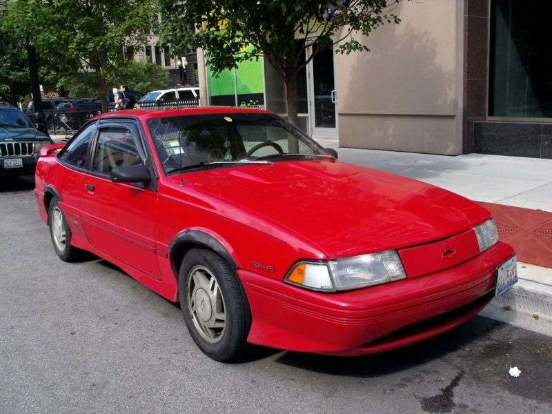 Chevrolet Cavalier 2nd generation [restyling] coupe 2.2 AT (1991–1993)