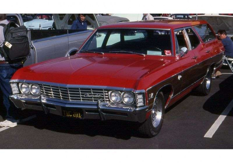 Chevrolet Caprice 1st generation [2nd restyling] Kingswood Estate Wagon 7.0 Hydra Matic 3 seat (1967–1967)