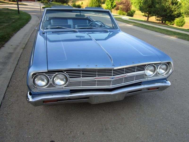 Chevrolet Chevelle 1st generation [restyling] 3.8 Powerglide convertible (1965–1965)