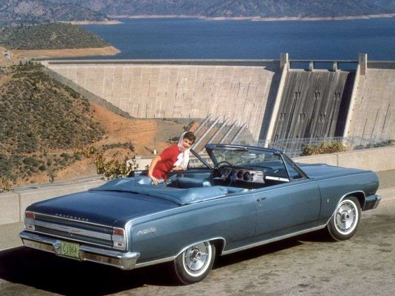 Chevrolet Chevelle 1st generation convertible 4.6 MT Overdrive (1964–1964)