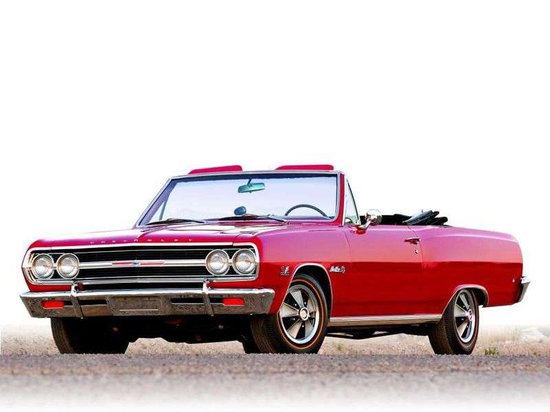 Chevrolet Chevelle 1st generation [restyling] 3.8 MT convertible (1965–1965)
