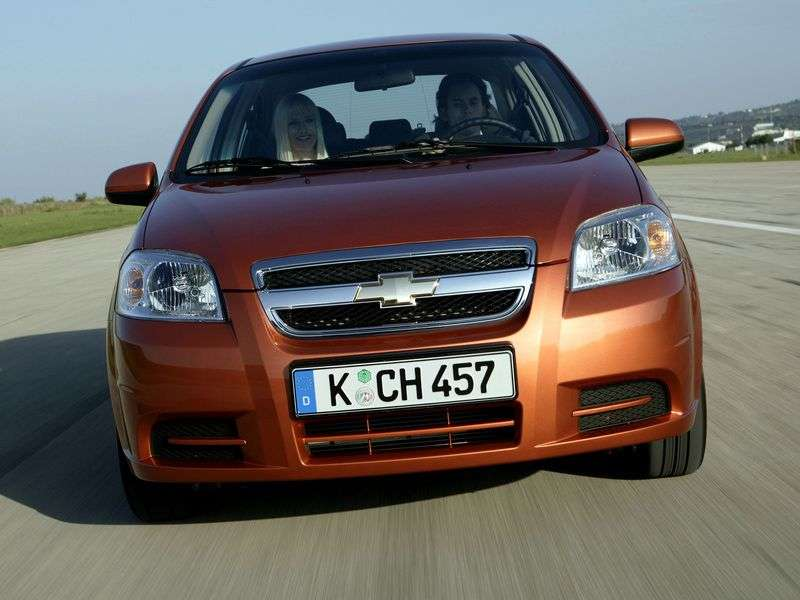 Chevrolet Aveo T250 [restyling] sedan 1.2 MT SE (1AL69EO55) (2008–2011)