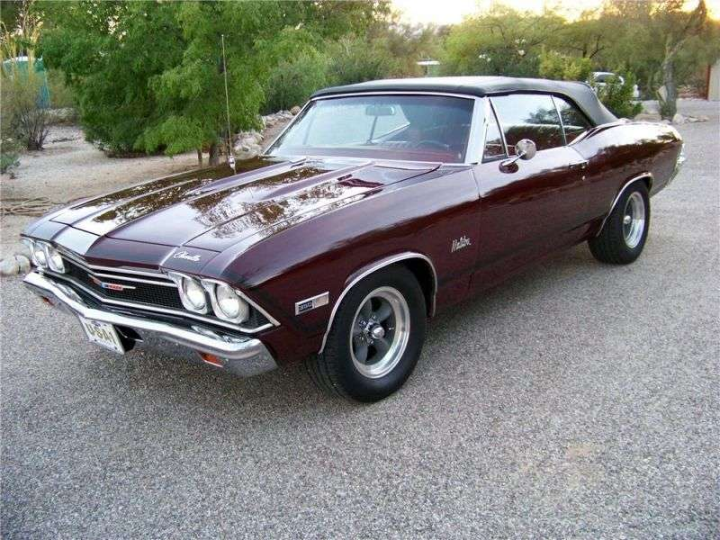 Chevrolet Chevelle 2nd generation convertible 4.1 MT (1968–1968)