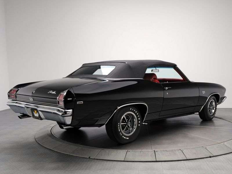 Chevrolet Chevelle 2nd generation [restyling] 5.0 3MT convertible (1969–1969)