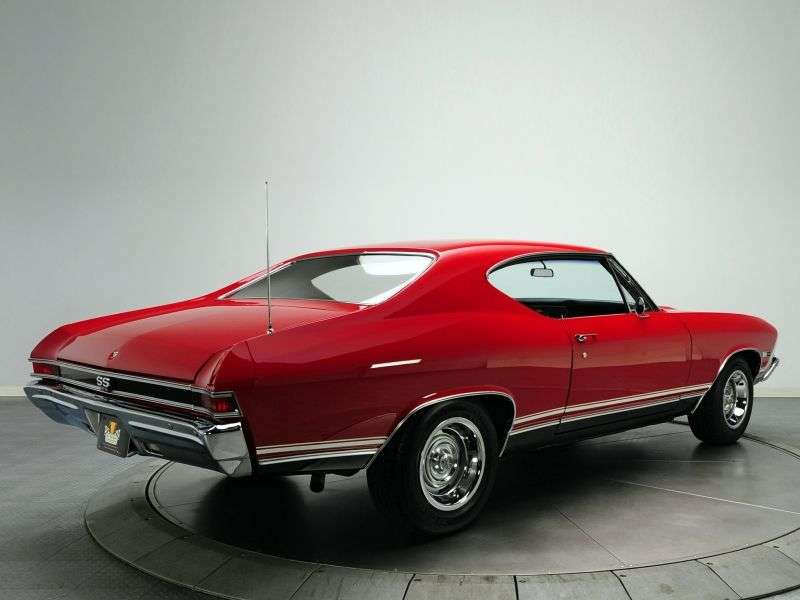 Chevrolet Chevelle 2nd generation Sport Coupe coupe 2 bit. 4.1 MT (1968–1968)