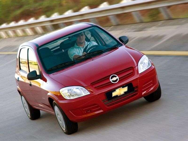 Chevrolet Celta 1st generation [restyling] 5 bit hatchback 1.4i MT (2006–2011)